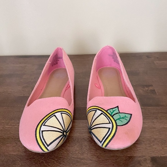 SO Pink Lemon Flats